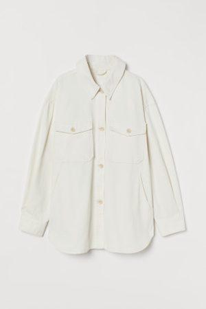 H&M Blusenjacke aus Twill