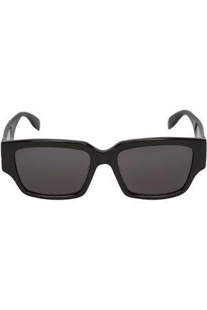ALEXANDER MCQUEEN Herren Sonnenbrillen - Eckige Sonnenbrille Aus Acetat