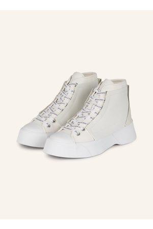 JW ANDERSON Damen Sneakers - Plateau-Sneaker weiss