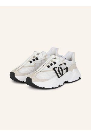 Dolce&Gabbana Damen Sneakers - Plateau-Sneaker Daymaster weiss