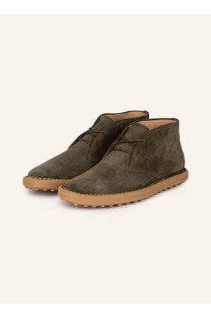 Tod's Herren Halbschuhe - Desert-Boots gruen