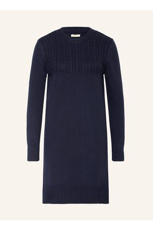 Barbour Strickkleid blau