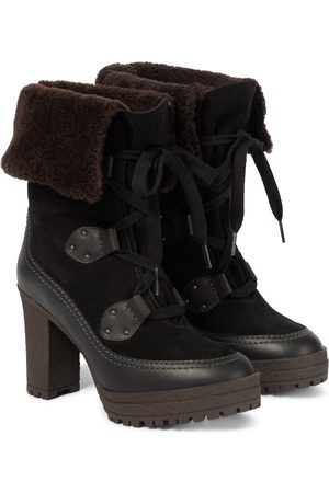 See by Chloé Ankle Boots Verena mit Shearling