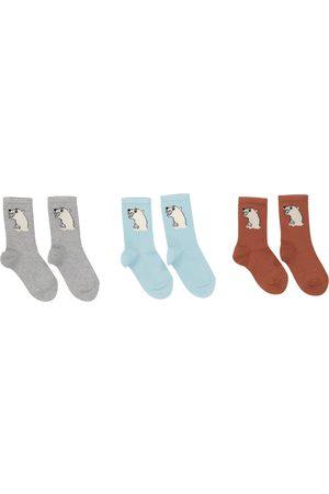 Mini Rodini Set aus drei Paar Socken