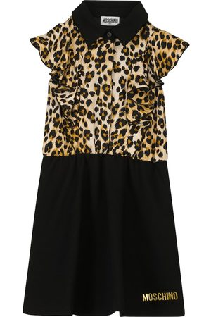 Moschino Bedrucktes Kleid aus Jersey