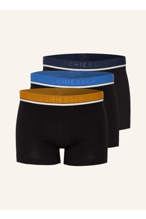 Schiesser Herren Boxershorts - 3er-Pack Boxershorts