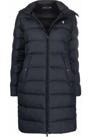 Polo Ralph Lauren Damen Parkas - Faux fur-trim feather down coat