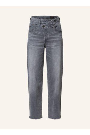 Herrlicher Damen Weite Hosen - Jeans-Culotte Mäze grau