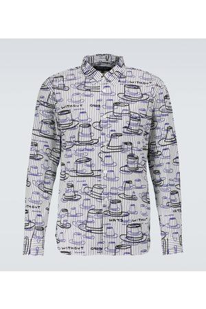 Comme des Garçons Homme Deux Gestreiftes Hemd aus Baumwolle