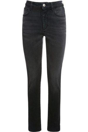 The Attico Enge Jeans Aus Baumwolldenim