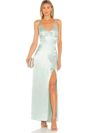 ELLIATT Sloane Maxi Dress in - Sage. Size L (also in XS, S, M).