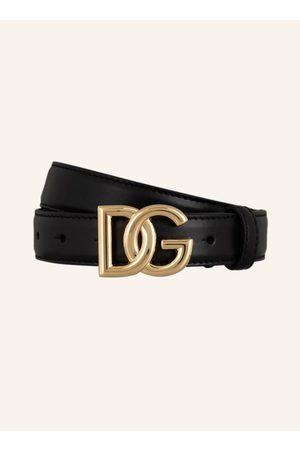 Dolce & Gabbana Damen Gürtel - Ledergürtel