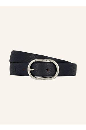 BRAX Damen Gürtel - Ledergürtel blau
