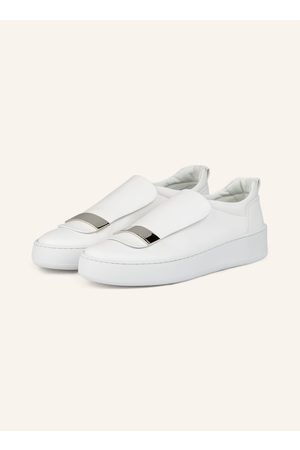 sergio rossi Plateau-Loafer weiss