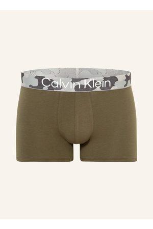 Calvin Klein Boxershorts Galvanized gruen
