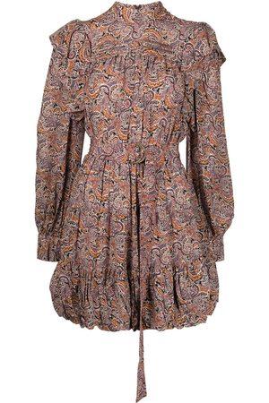 ULLA JOHNSON Luna paisley-print mini dress