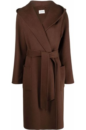P.A.R.O.S.H. Belted wool trench coat