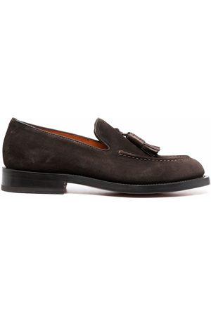 santoni Tassel-embellished loafers