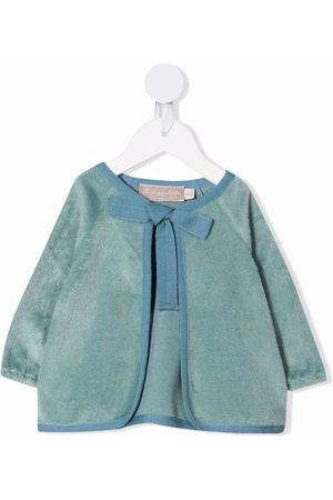 La Stupenderia Bow-tie textured jacket