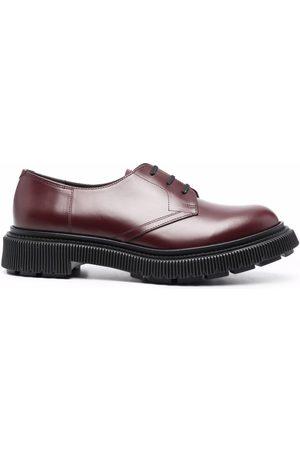 ADIEU PARIS Contrast-sole derby shoes