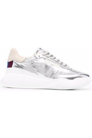 Stella McCartney Loop metallic sneakers