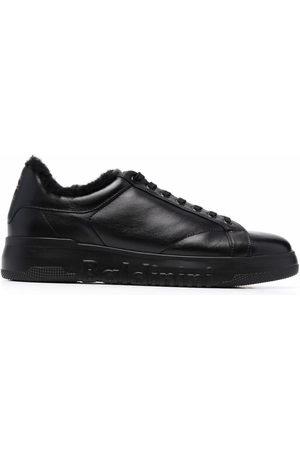Baldinini Embossed-logo lace-up sneakers