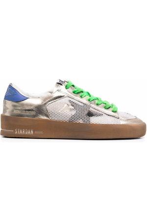 Golden Goose Stardan colour-block leather sneakers