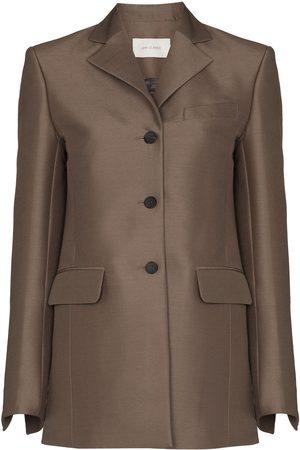 Low Classic Single-breasted wool-silk blazer