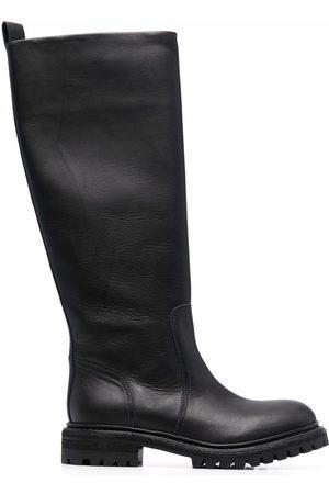 Del Carlo Damen Sneakers - Knee-length slip-on boots