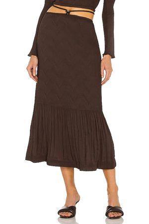 JONATHAN SIMKHAI Mia Tie Waist Skirt in - . Size 0 (also in 2, 4, 6, 8).