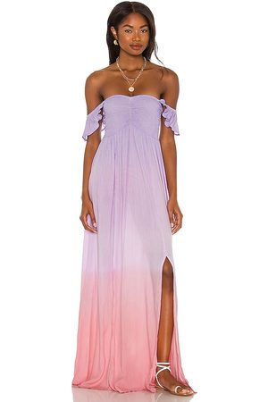 TIARE HAWAII Hollie Maxi Dress in - Pink. Size M/L (also in S/M).