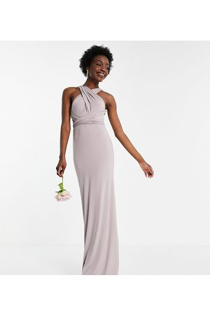 TFNC Bridesmaid multiway maxi dress in navy