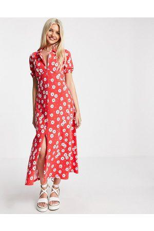 ASOS ASOS DESIGN Curve ultimate midi tea dress in zebra-Multi