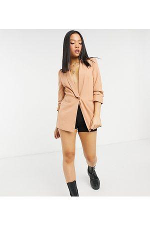 ASOS ASOS DESIGN Petite mix & match suit blazer in blush
