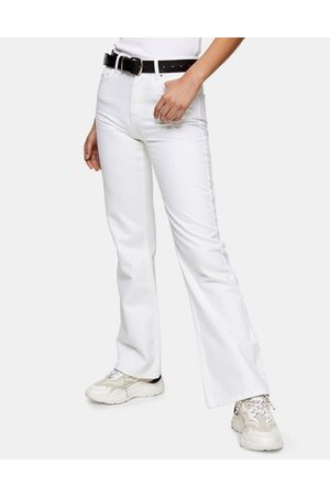 Topshop 90s flared jeans in white