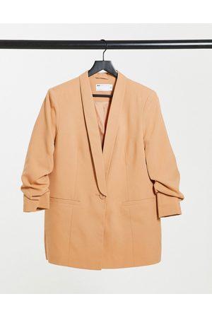 ASOS Mix & match tailored suit blazer in blush