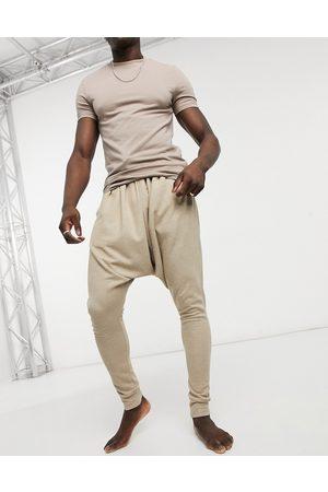 ASOS Lounge drop crotch pyjama bottoms in