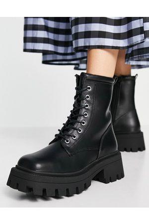 ASOS Ragan chunky platform boots in black