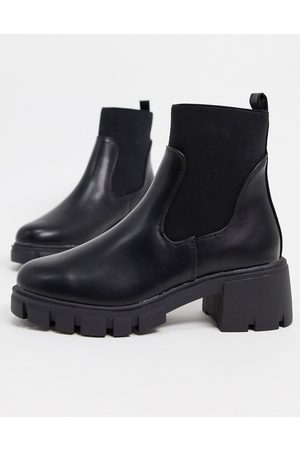 ASOS Robbie chunky chelsea boots in