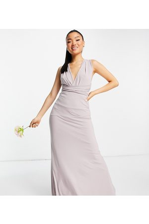 TFNC Damen Lange Kleider - Bridesmaid multiway maxi dress in navy