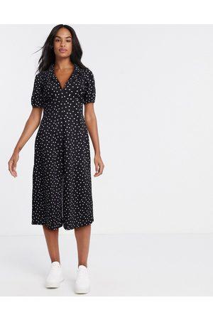 ASOS Damen Freizeitkleider - Ultimate midi tea dress in polka dot