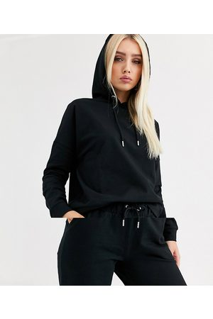 ASOS Tracksuit hoodie / slim jogger with tie in organic cotton