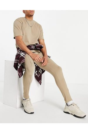 Only & Sons Co-ord joggers with organic cotton in -Neutral