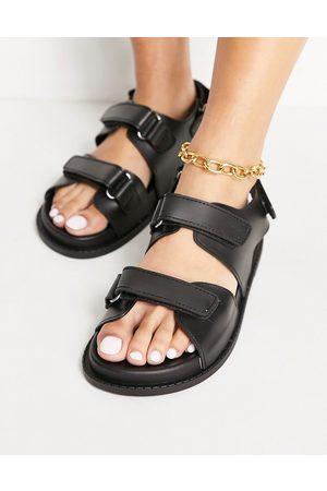 ASOS Damen Stiefeletten - Ragan chunky platform boots in black