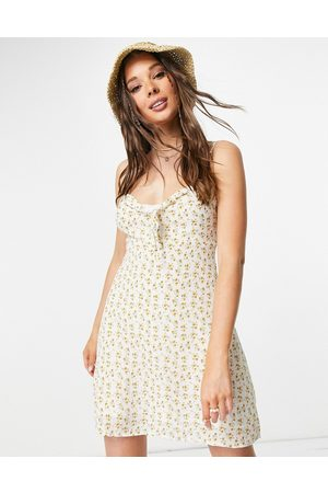 Urban Bliss Floral tie detail cami dress in multi