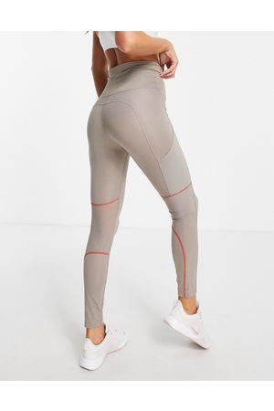 Nike Nike Air Running Dri-FIT 7/8 leggings in grey