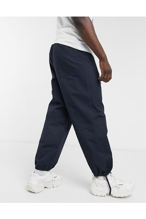 ASOS Wide fit carpenter trousers in