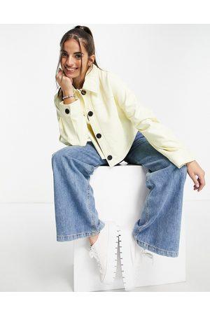 Chi Chi London Damen Freizeitkleider - Reese frill day dress in polka dot-Brown