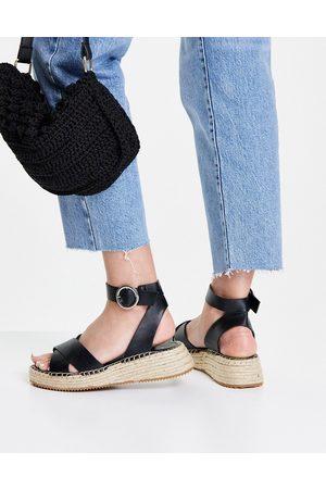 Topshop Damen Schnürstiefel - Khloe Lace up Boot in Black
