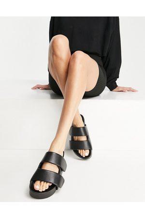 ASOS Sammy slingback mid heels in black